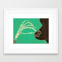 dia de los muertos Framed Art Prints featuring Dia de los Muertos by Francesco Tortorella