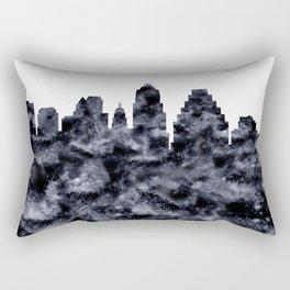 Austin Skyline Texas Rectangular Pillow