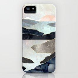 Blue Mountain Lake iPhone Case