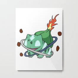 Avatar: The last Bulbasaur Metal Print