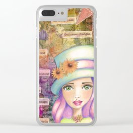 Let Nothing Disturb You Clear iPhone Case