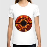 pokeball T-shirts featuring Primal Groudon Pokeball by DSWAJ