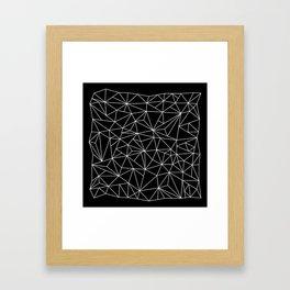 Geometric Jane 2 Framed Art Print