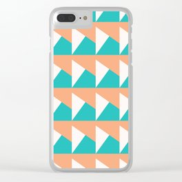 Miami Vice 1 Clear iPhone Case