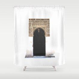 Alhambra Door Shower Curtain