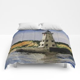 ~Frankfort Lighthouse~ Comforters
