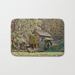 Old Time Country Day Bath Mat