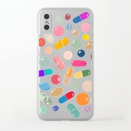 Sunny Pills Clear iPhone Case