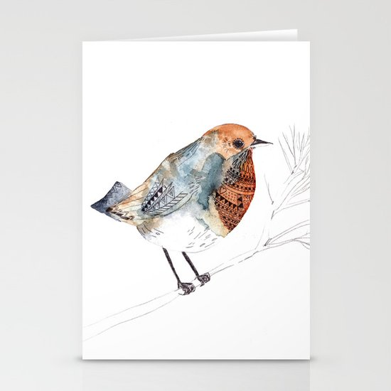 Rockin' Robin Stationery Cards