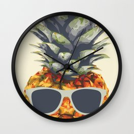 Pineapple aka Agent Ananas Wall Clock