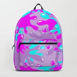 Slime in Lavender, Pink & Blue Backpack
