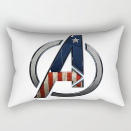 UNREAL PARTY 2012 THE AVENGERS  CAPTAIN AMERICA  Rectangular Pillow