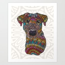 Colorful Roxy Art Print