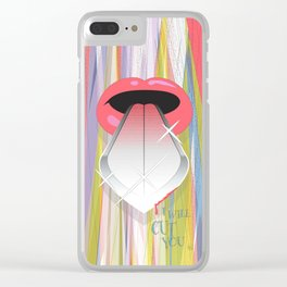 I Will Cut You Clear iPhone Case