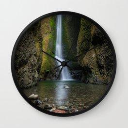 Oneonta Falls Wall Clock