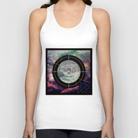 compass Tank Tops featuring Compass by Luisa Burgoyne