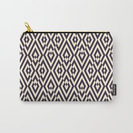 Diamond Shaped Tiles Geometric Seamless Pattern Carry-All Pouch