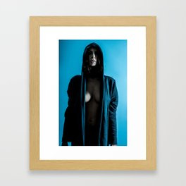 Urban tension Framed Art Print