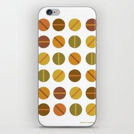 clockwise iPhone Skin