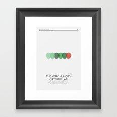 The Very Hungry Caterpillar Framed Art Print