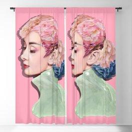 Audrey Hepburn Blackout Curtain