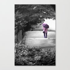 Down Canvas Print