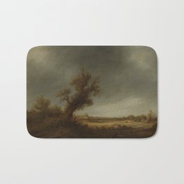 andscape with an old oak, Adriaen van Ostade, 1640 - 1650 Bath Mat