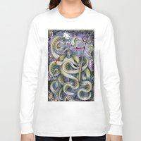 ursula Long Sleeve T-shirts featuring Ursula by Jena Sinclair