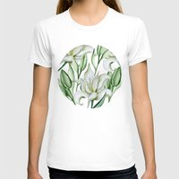 lily T-shirts featuring Lily by Julia Badeeva