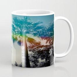 Palm trees of Barcelona Coffee Mug