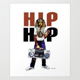 Hip Hop Pharoah Art Print