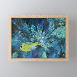 Le regard de Poséidon Framed Mini Art Print