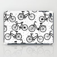 bikes iPad Cases featuring Bikes by sarknoem