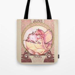 Birthstone Nouveau - June Tote Bag