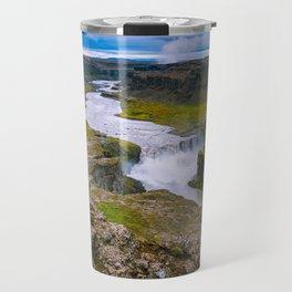 The amazing Hafragilsfoss Travel Mug