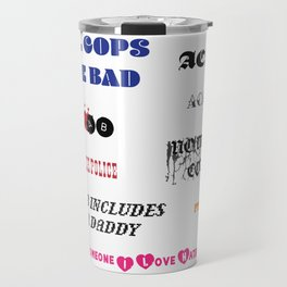 ACAB sticker pack Travel Mug