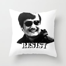 Chen Guangcheng RESIST  Throw Pillow