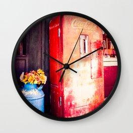 Vintage Coke Machine Wall Clock