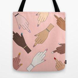 Worldwide Babes Tote Bag