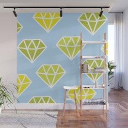 Diamonds Wall Mural