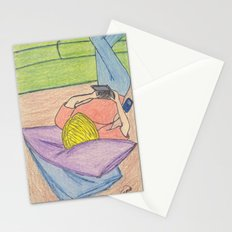 Moment in the Life of a Teenaged Girl Stationery Cards