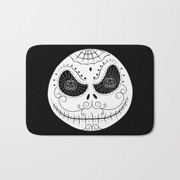 Jack's Skull Sugar (Vector Mexican Skull) Bath Mat