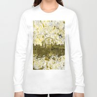 london Long Sleeve T-shirts featuring London by Bekim ART