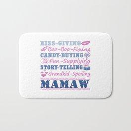 I'M A PROUD MAMAW! Bath Mat