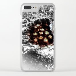 Primordial Dramatique (Hot Springs Yellowstone) Clear iPhone Case