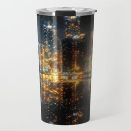 Busan At Night Travel Mug