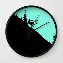 MTB 2colors Wall Clock