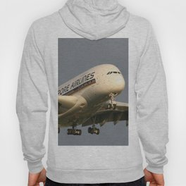 A380 Evening Arrival Hoody