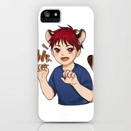 Young Taiga iPhone Case