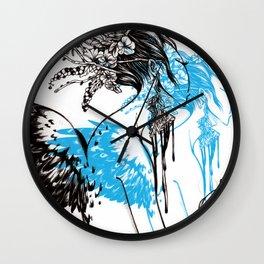 Spirit Willing Wall Clock